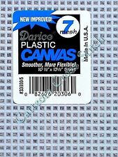 Darice Plastic Canvas 7 Count 05 --> Light Blue <--