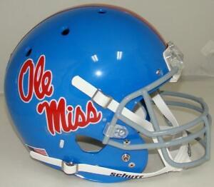 Mississippi (Ole Miss) Rebels Alternate Blue Schutt Full Size Replica Helmet