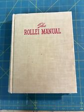 Rollei Manual .Twin Lens Photography By A. Pearlman 1st Edition 1953- London