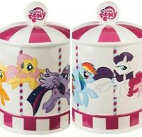 Brand New HASBRO My Little Pony On A Carousel Ceramic Cookie Jar, NEW in Box!