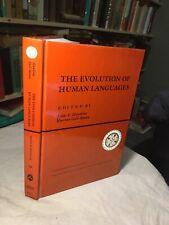 La evolución de los idiomas humanos: 011 (Santa Fe Institute) por Hawkins, John A.