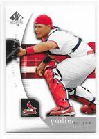 2005 Upper Deck SP Authentic YADIER MOLINA #100 St. Louis Cardinals MLB
