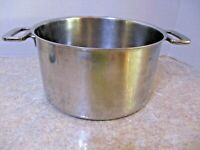 Cuisine Cookware Gallery Series 6 QT Pot Stainless Steel copper/3 ply base