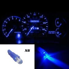 6x T5 Wedge Blue LED Dash Instrument Cluster Speedometer Light 37 70 73 74 New