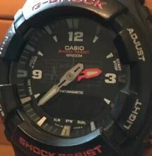 Vintage Casio G-Shock G-100 2327 Water Resist 20 Bar 200 M Wristwatch Watch Blk