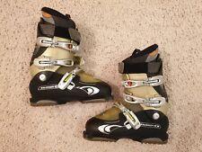 New listing Salomon Ellipse 9.0 Mens Downhill Ski Boots Men's Size 8.5 Color - Black/Gold