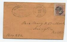 1864 Fort Delaware civil war POW handstamp Morgan's Raiders [F821.83]