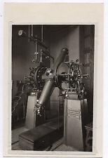 PHOTO ANCIENNE Télescope ancien 1965 Astronomie Instrument d'optique Machine