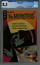 THE MUNSTERS #16 CGC 8.5 OFF-WHITE TO WHITE PAGES 1968