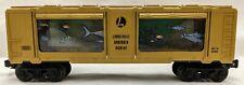 Lionel 6-16681 Gold Animated Aquarium Car
