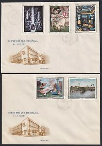 1967-FDC-36 ANTILLES SPAIN 1967 FDC ART NATIONAL MUSEUM SUPER CONSERVATION COVER