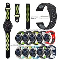 Silicone Sport Band For Samsung Gear S3 Classic / Frontier Smart Watch Straps