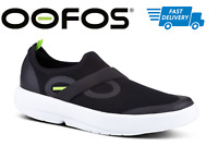🔥OOFOS OOMG Men's Recovery Footwear Impact Absorption Shoes Black White - NEW!