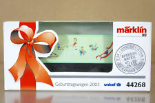 MARKLIN Märklin 44268 Geburtstagwagen 2003 UNICEF Conteneur WAGON NC