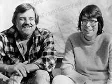 8x10 Print Director George Romero Author Stephen King #4245