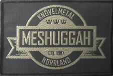 MESHUGGAH PATCH / AUFNÄHER # 6 KNÖVELMETAL NORRLAND