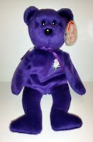 Princess Diana Beanie Baby Early Edition, Rare 1997 Ty P.E. China With Spaces