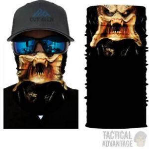Predator Multi function Scarf Snood Bandana Airsoft Face Mask Head Cover Hat UK