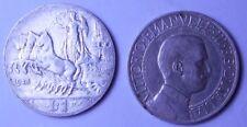 1 Lira 1913 quadriga veloce  conservazione MB