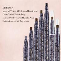 Lasting Smooth Waterproof Dual-use Eye Cosmetic Eyebrow Pencil Eyeliner Pen