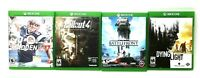 XBOX ONE | Video Game Lot Bundle of 4 | Dying Light | Star Wars | Fallout Madden