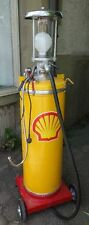Ölkabinett Zapfsäule Shell Lampe