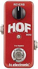 TC Electronic Hall of Fame Mini Reverb Guitar Bass Pedal+TonePrints FREESHIP NEW