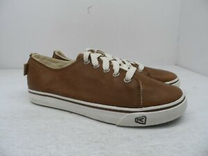 Keen Men's Timmons Leather Lace Up Casual Shoe British Tan 9M