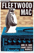 Fleetwood Mac 2009 Nashville, Tn Limited Edition Concert Lithograph