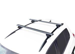 Alloy Roof Rack Cross Bar for VW Golf MK7 7.5 Wagon 2014-20 120cm Black
