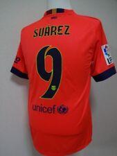 Barcelona #9 Suarez 100% Original Jersey Shirt L 2014/15 Away Kit Rare