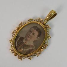 9 Carat Pearl Pendant/Locket Victorian Fine Jewellery