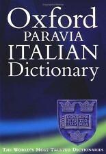 Oxford-Paravia Italian Dictionary-ExLibrary