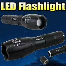 Zoomable 3800Lm Lumens LED Flashlight Hand Torch XML T6 Hiking Camping Light U