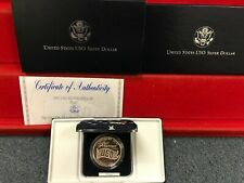 1991-S   USO 50th Anniversary PROOF Silver Dollar OGP