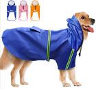 Dog Raincoat Waterproof - Outdoor Rain Coat Jacket Coat Fleece Reflective Safe
