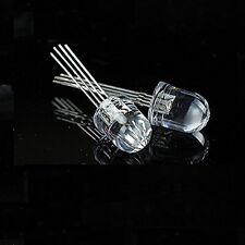 50 PCS LED RGB 10MM common cathode 4-PINS Super Bright Bulb Lamp