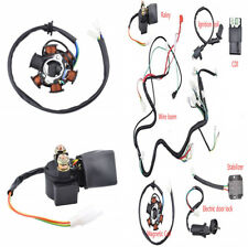 Wiring Harness Wire Loom CDI Ignition Coil Set For GY6 150cc Pit Bike Scooter