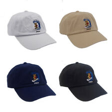 Baseball Cap Embroidery Hat Skate Surfing Bear Bear Men's Black Navy Soccer Golf