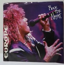 """Europe Rock The Night / Seven Doors Hotel  7"""" 45 RPM Record w/Picture Sleeve"""