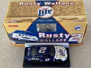 1/64 Rusty Wallace Miller Lite 1999 Ford Taurus Diecast Car