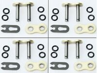 4pcs Motorcycyl O-Ring 520 Chain MASTER JOINT LINKS CLIP Chip Type Joining