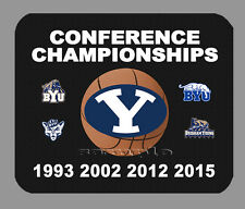 Item#4521 BYU Cougars Women's Championship Basketball Banner Football Mouse Pad