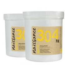 Naissance Mango Butter Refined 500g(2 x 250g) for Skincare, Haircare, Massage