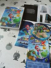 SUPER MARIO BROS GALAXY 2 NINTENDO WII UK PAL COMPLETE WITH MANUAL FREE UK POST