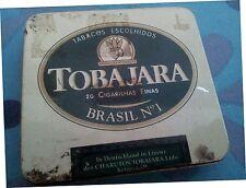 Scatola di latta porta tabacco Tobajara