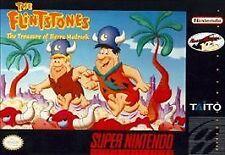 FLINTSTONES TREASURE SIERRA MADROCK SNES SUPER NINTENDO GAME COSMETIC WEAR