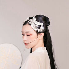Retro classic hair accessories hand Miao silver tassels hairpin headdress 1piece