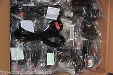 100x LOT UK Power Cord Cable for Computers PC Printer Projector  Beamer BLACK