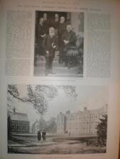 New science buildings Leys School Cambridge UK 1893